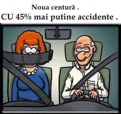 Mai puține accidente cu 45%